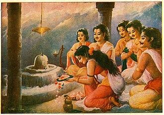 Kedarnath Temple - Pandavas visit Kedarnath after Mahabharata war