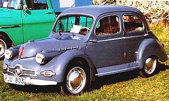 Panhard Dyna X - Image: Panhard X 86 1952