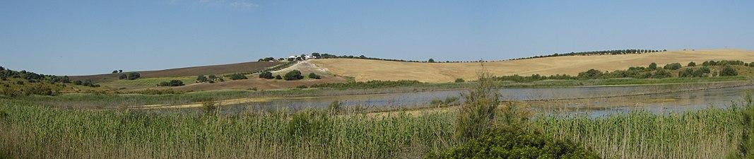 Panorámica de la Laguna Salada de Zorrilla.JPG