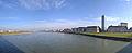 Panorama Rheinkniebrücke Düsseldorf 2.jpg