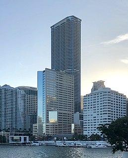 Panorama Tower Skyscraper in Miami, Florida, USA