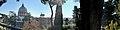 Panorama Vatican, St. Peter's Basilica and Gardens of Vatican City (46800435851).jpg