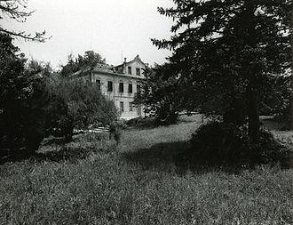 Villa Giusti - Villa Giusti in 1967, photo by Paolo Monti