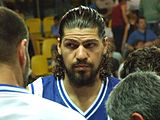 Papadopoulos playing for Greece