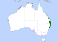 Paradise Riflebird Distribution Map.png