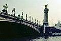 Paris, Puente de Alejandro III 1976.jpg
