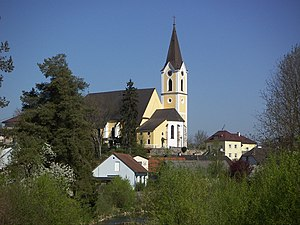 Sankt Georgen an der Gusen - Image: Parish Church St. Georgen an der Gusen