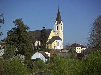 Sankt Georgen an der Gusen - Image: Parish Church St. Georgen an der Gusen