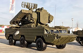 9K33 Osa Vehicle-launched surface-to-air missile system