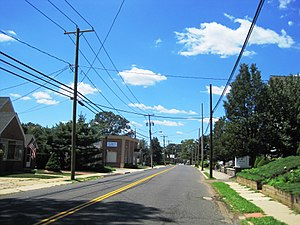 Parlin, New Jersey - Along Washington Road (CR 535)