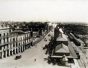 Buenos Aires Northern Railway - When Central Station was destroyed by fire, terminus was moved to Retiro.