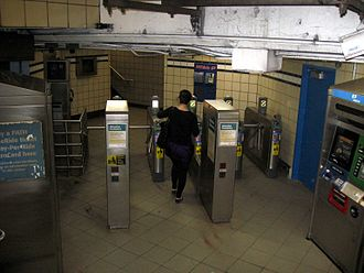 23rd Street station (PATH) - Turnstiles