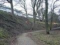 Path in London Road Gardens, looking eastwards - geograph.org.uk - 1727212.jpg