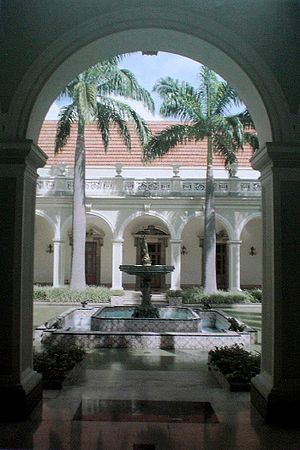 Miraflores Palace - Main courtyard of the palace