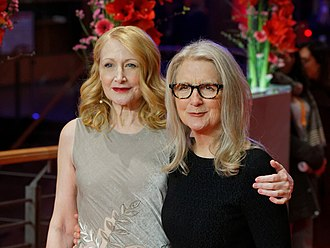Patricia Clarkson - Clarkson with Sally Potter at the 2017 Berlin International Film Festival premiere of The Party
