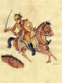 Patrick Berthelot - cavalier du régiment de Clermont-Prince.png