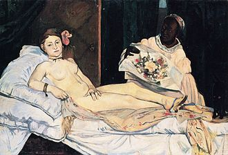 Spirit of the Dead Watching - Copy of Manet's Olympia, 1891.