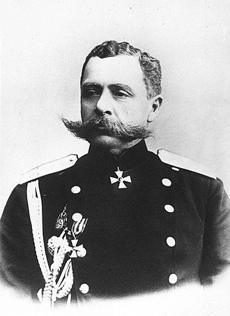 Paul von Rennenkampf - Paul von Rennenkampf in 1910
