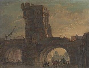 Old Bridge at Shrewsbury