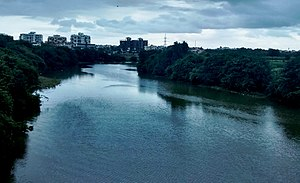 Pavana River - Pavana River at Ravet