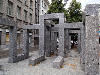Pavillon-Skulptur