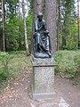 "Pavlovsk Park. Twelve tracks. Statue ""Calliope."".JPG"