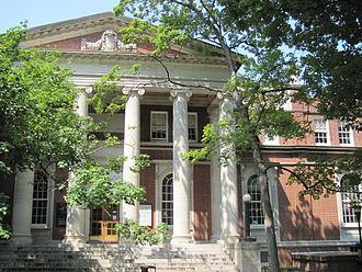 Peabody College - Peabody Library, Peabody College, Vanderbilt University.