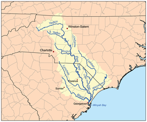 Pee Dee River watershed.