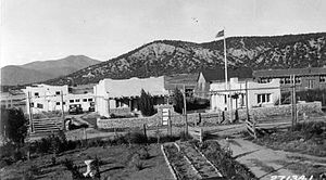 Peñasco, New Mexico - Peñasco Ranger Station complex, 1932