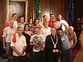 Performers with Lord Mayor 2006.JPG