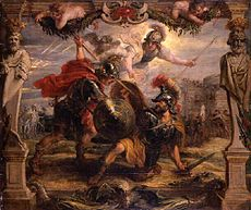 Peter Paul Rubens - Achilles slays Hector.jpg