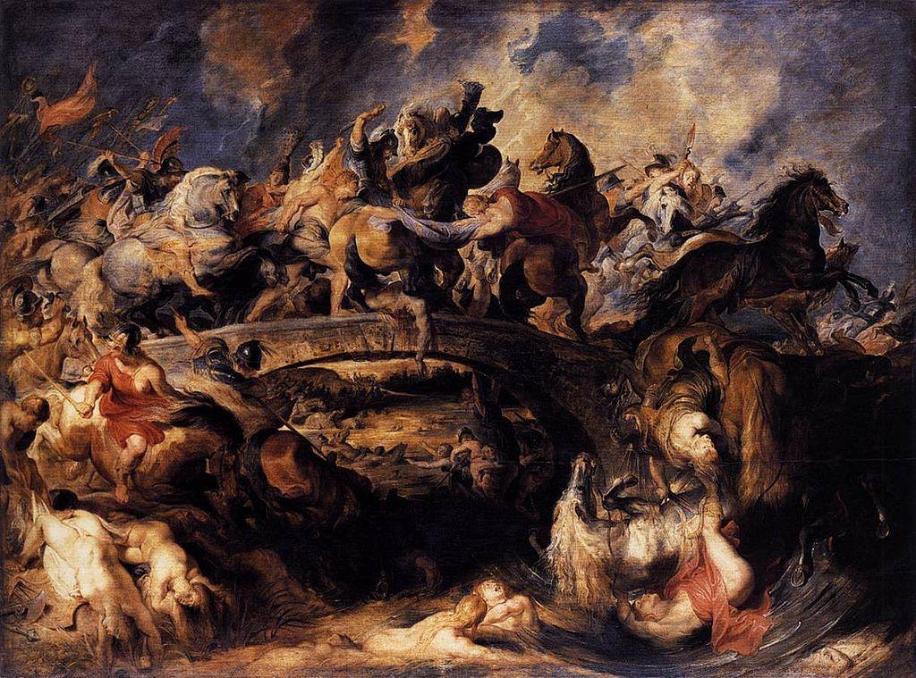 Peter Paul Rubens - Battle of the Amazons