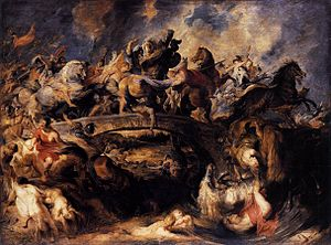 Peter Paul Rubens - Battle of the Amazons - WGA20302.jpg