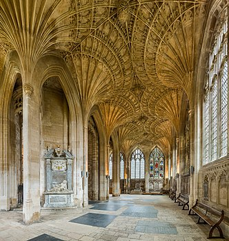 The lady chapel of Peterborough Cathedral