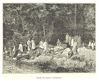Komoé River - Along the Komoé River, 1892