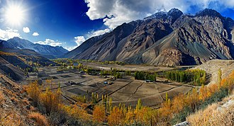 Ghizer District - Ghizer is home to the dramatic landscapes of the Phander Valley