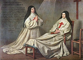 Mother Catherine-Agnès Arnault  and Sister Catherine de Sainte Suzanne de Champaigne