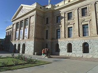 Arizona State Capitol - Image: Phoenix Arizona State Capital 1901 3