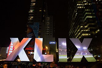 Super Bowl XLIX - Downtown Phoenix before the event.