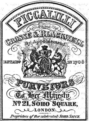 Piccalilli - Image: Piccalilli 1867