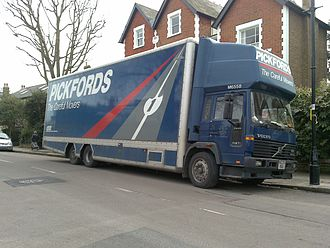 Pickfords - Pickford's Volvo FL614 van