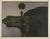 Piet Mondriaan - Isolated tree on the Gein in late evening - 0333224 - Kunstmuseum Den Haag.jpg
