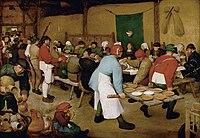 Pieter Bruegel the Elder - Peasant Wedding - Google Art Project 2.jpg