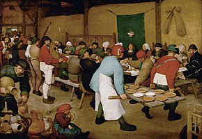 Pieter Bruegel the Elder - Peasant Wedding - Google Art Project 2.jpg