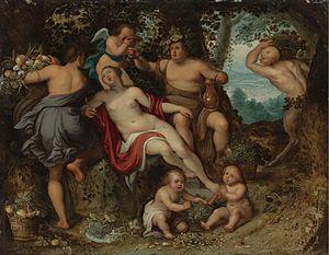 Pieter van Avont - Sine Cerere et Baccho friget Venus