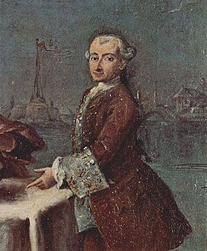 Pietro Longhi - Self-portrait of Longhi