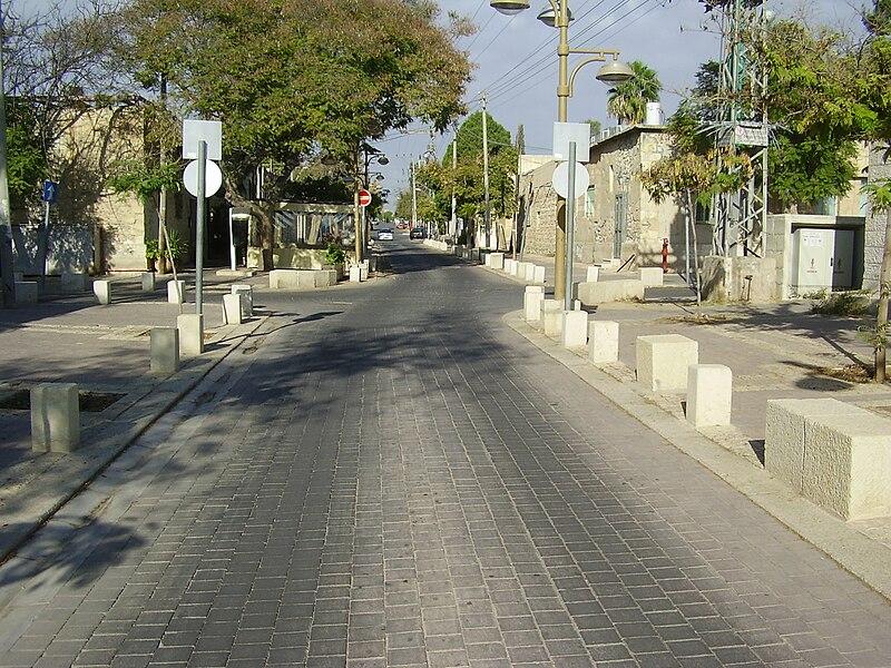 מדרחוב סמילנסקי בבאר שבע