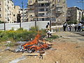 PikiWiki Israel 31378 Burning of Chametz (leavened food) in Bnei Brak.JPG