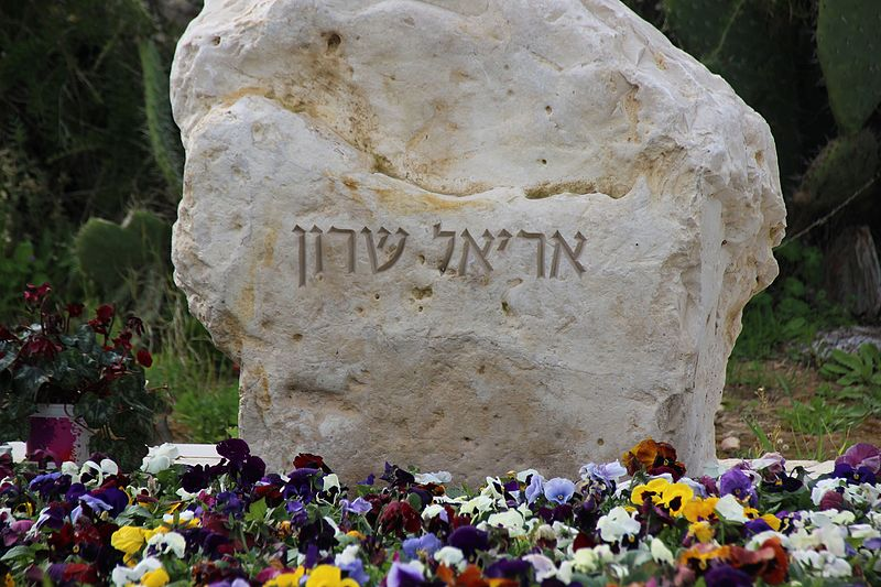 קבר אריאל שרון, גבעת הכלניות