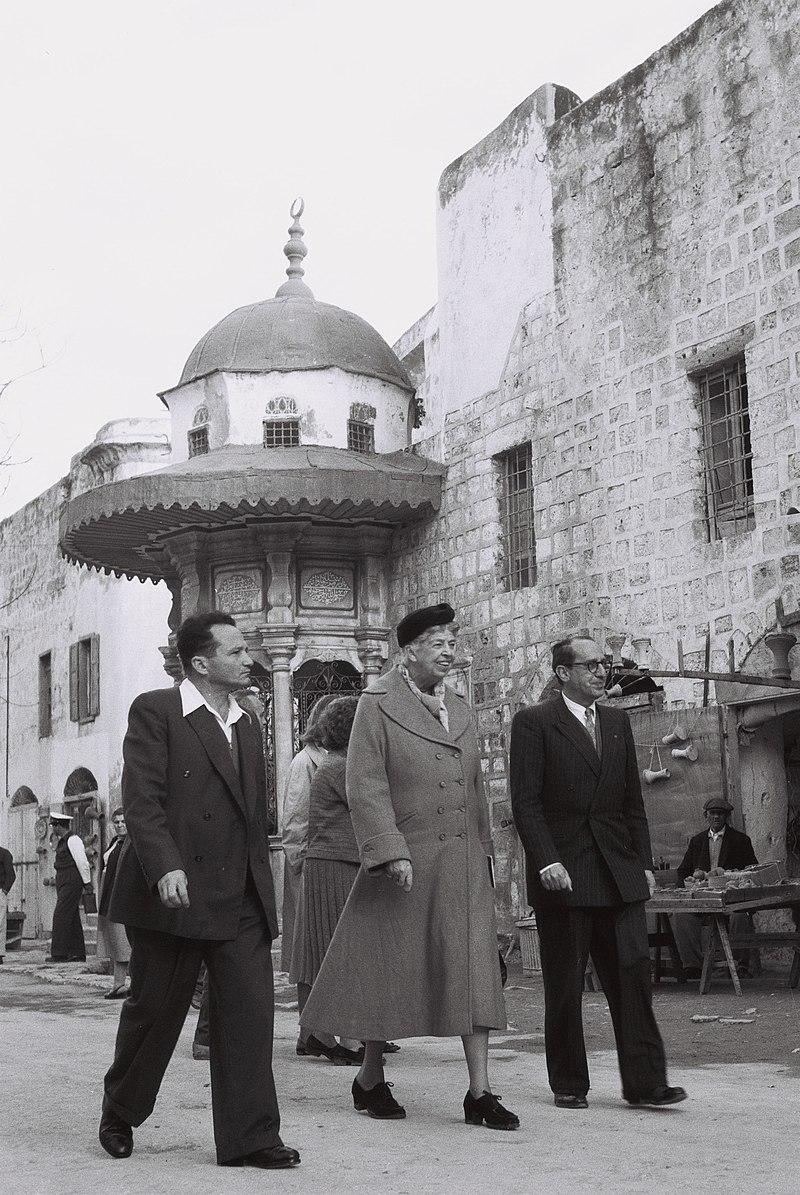 ביקורה של אלינור רוזבלט בישראל